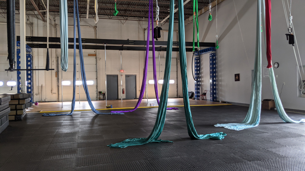 Pole and aerial studio